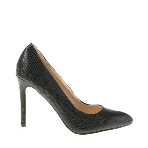 reducere Pantofi dama Claudia 2 negri, cel mai mic pret