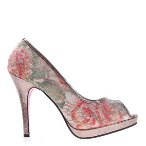 reducere Pantofi dama Shyrley khaki, cel mai mic pret
