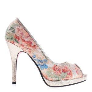 reducere Pantofi dama Shyrley taupe, cel mai mic pret