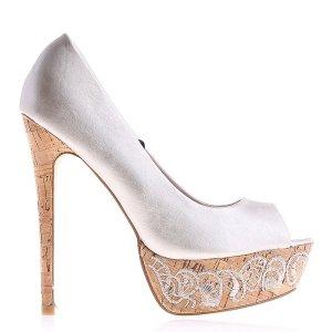 reducere Pantofi dama Miranda aurii, cel mai mic pret