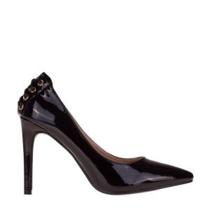 reducere Pantofi dama Amara negri, cel mai mic pret