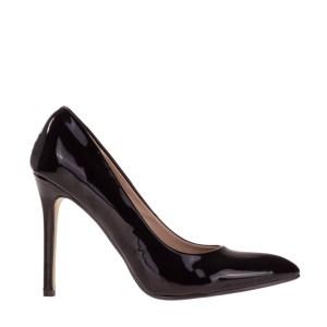 reducere Pantofi dama Audra negri, cel mai mic pret