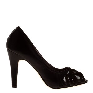 reducere Pantofi dama Eris negri, cel mai mic pret
