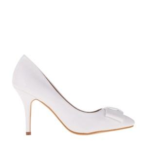 reducere Pantofi dama Kitty albi, cel mai mic pret