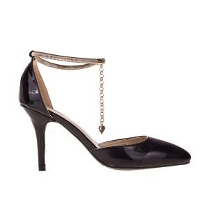 reducere Pantofi dama Lizette negri, cel mai mic pret