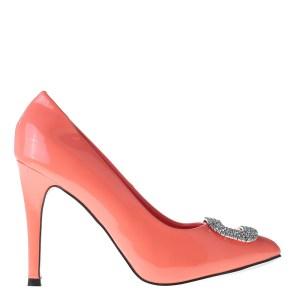 reducere Pantofi dama Amarylis roz neon, cel mai mic pret