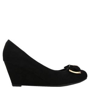 reducere Pantofi dama Judith negri, cel mai mic pret