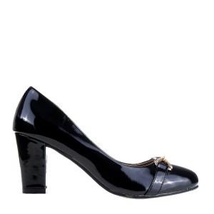 reducere Pantofi dama Denisia negri, cel mai mic pret