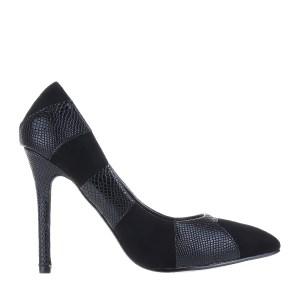 reducere Pantofi dama Connie negri, cel mai mic pret