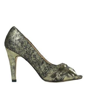 reducere Pantofi dama Odalis aurii, cel mai mic pret