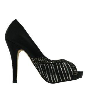 reducere Pantofi dama Debbie negri, cel mai mic pret