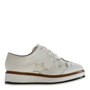 reducere Pantofi dama Shirley albi, cel mai mic pret