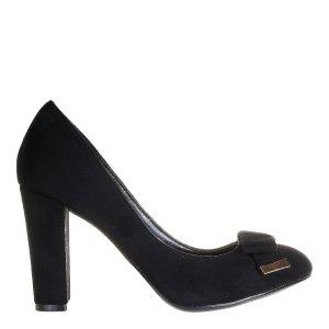 reducere Pantofi dama Zenaida negri, cel mai mic pret