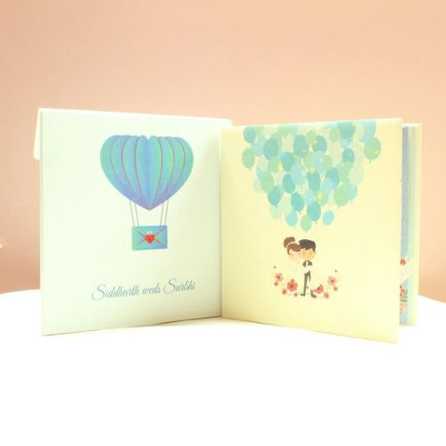 Thick Board Wedding Cards