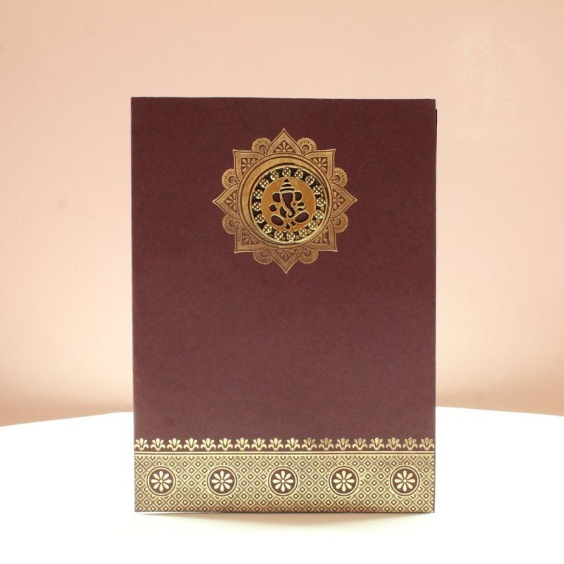 KL010030 WEDDING INVITATION CARD 1