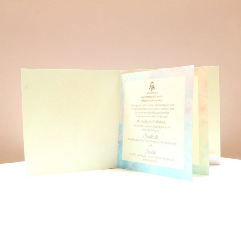 KL2065S1L WEDDING INVITATION CARD 2