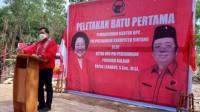 Pembangunan kantor DPC PDI Perjuangan Kabupaten
