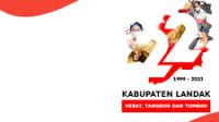 Link Download Logo Hut Pemkab Landak ke-22, Twibbon Bingkai Foto Hut