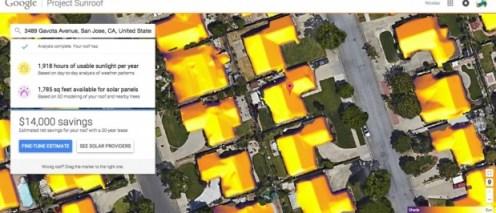 Нов проект на Google изчислява ефективността на слънчевите панели в зависимост от географското местоположение