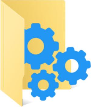 С помощта на Folderico можете да променяте иконките на папките