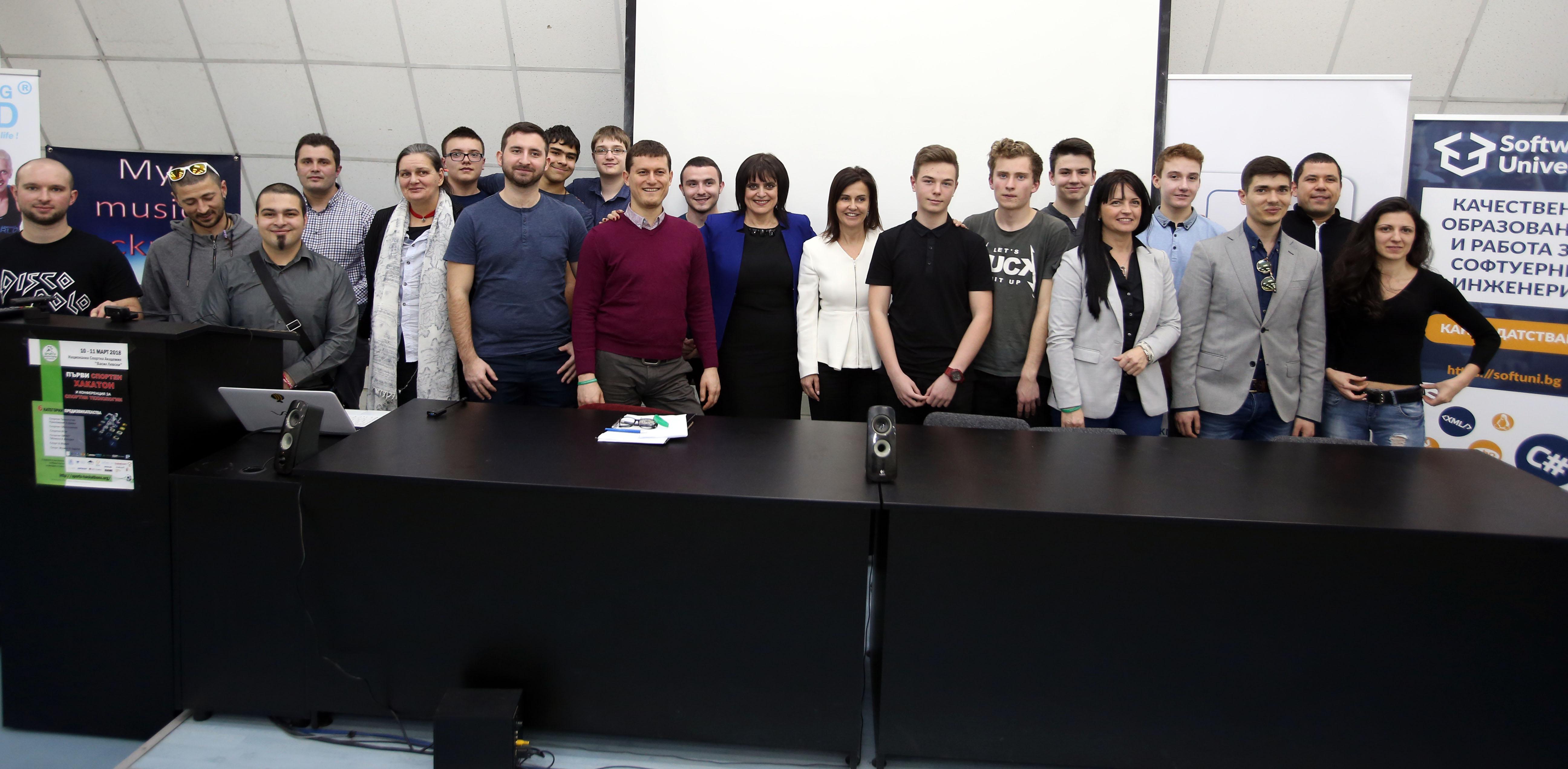 Ваня Колева, заместник-министър на младежта и спорта, участва в журито