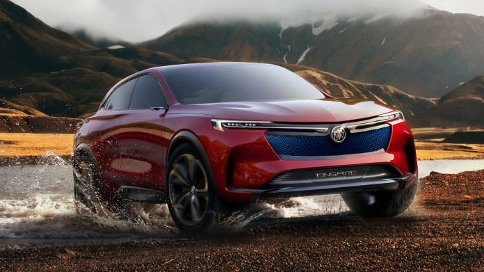 General Motors представи електромобила Buick Enspire с мощност 550 к.с. и пробег 600 км