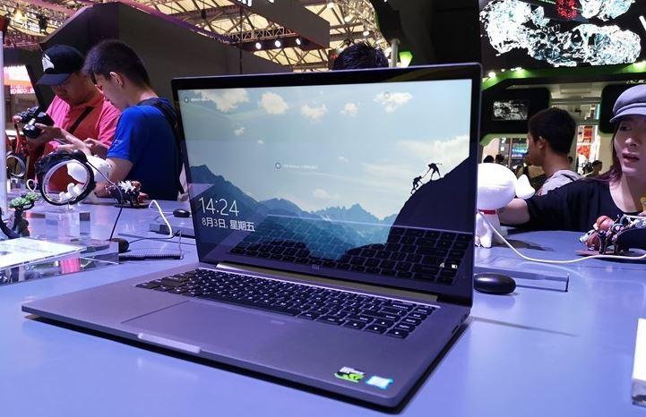 Компанията Xiaomi представи на изложението ChinaJoy геймърския компютър Mi Notebook