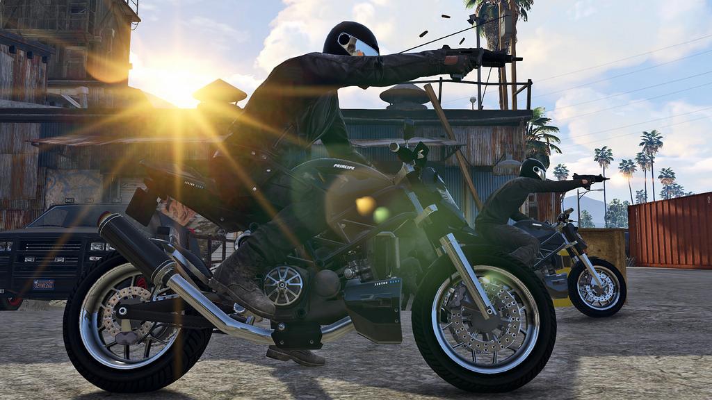 Нова сага с марката Grand Theft Auto V стигна до