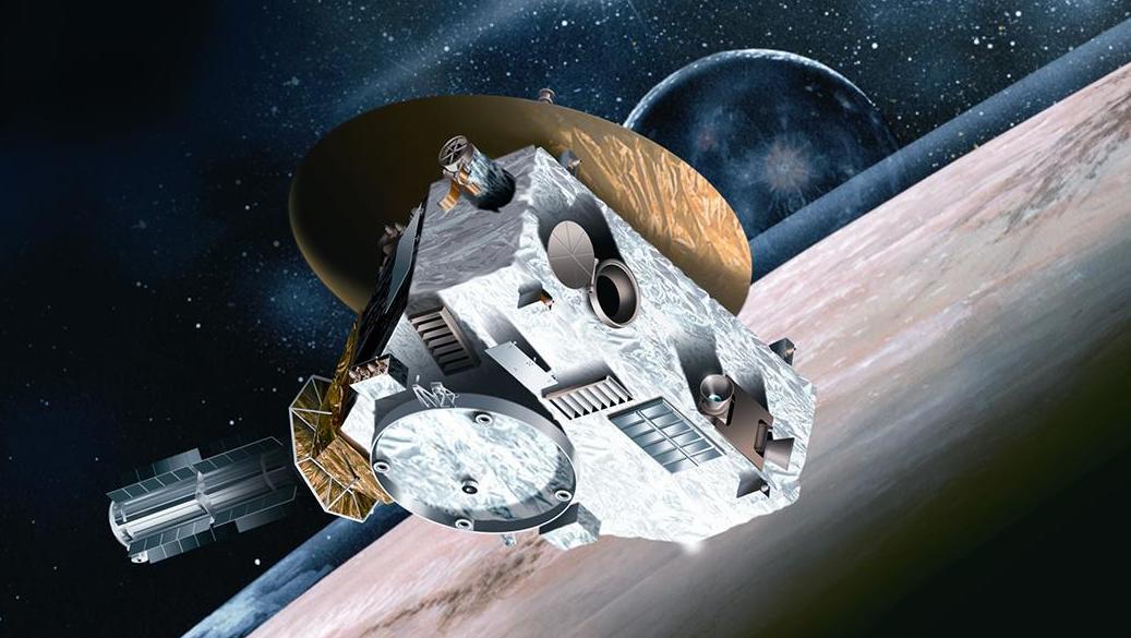 Автоматичната междупланетна станция New Horizons на NASA към днешен ден