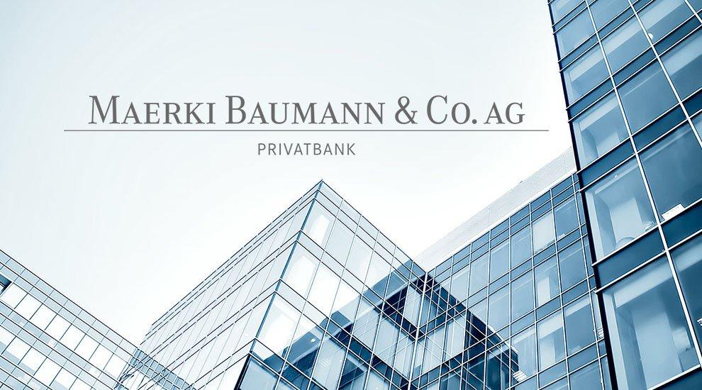 Частната банка Maerki Baumann с централен офис в Цюрих започва