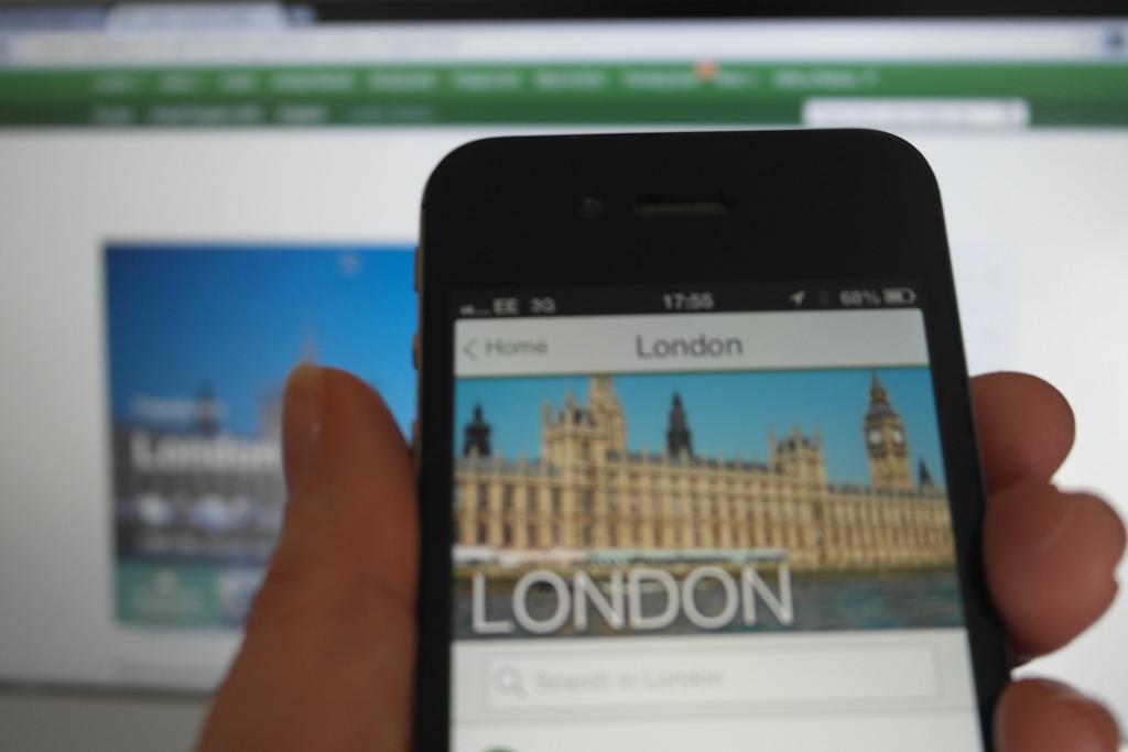 В ерата на интернет хотел или ресторант може да живее