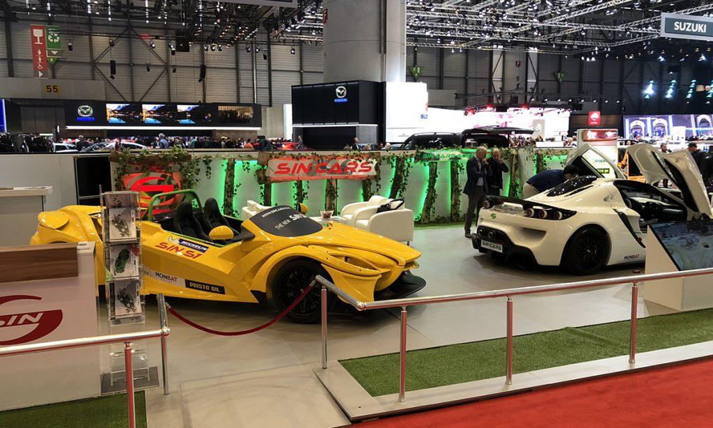 Българският производител на състезателни автомобили Sin Cars International ЕООД планира