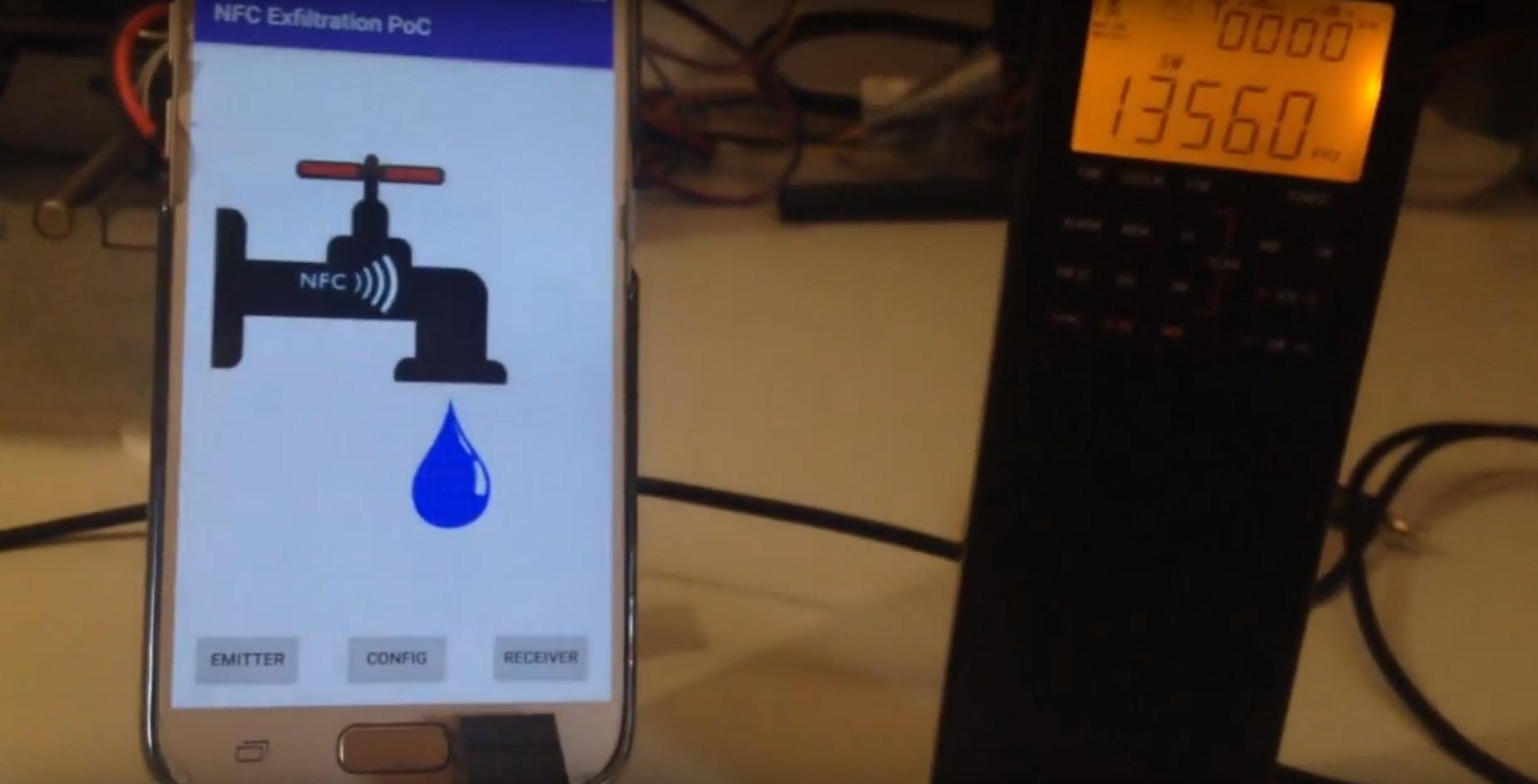 NFCdrip: нов метод за проникване в Android смартфоните чрез NFC
