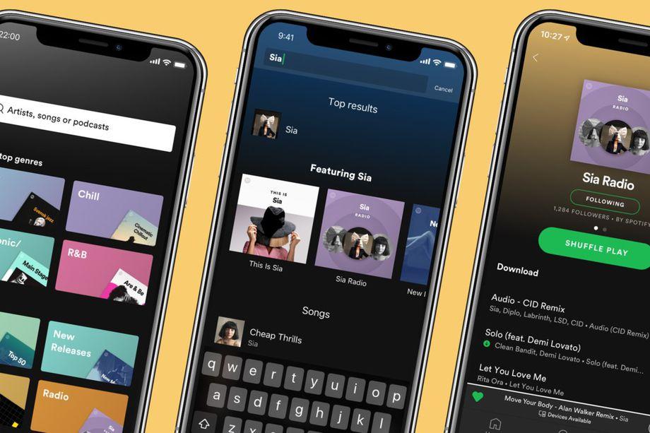 Spotify пусна актуализация за своите Premium потребители, c която обновява