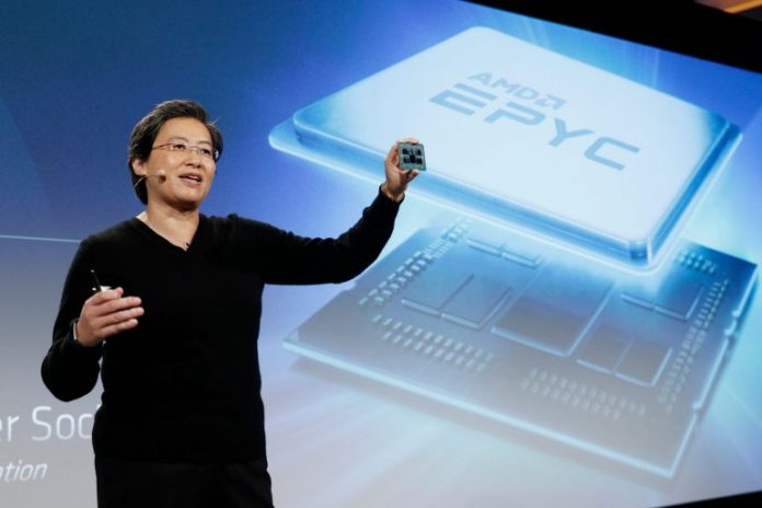 AMD    Zen 2   7 nm   Radeon Instinct MI60/MI50