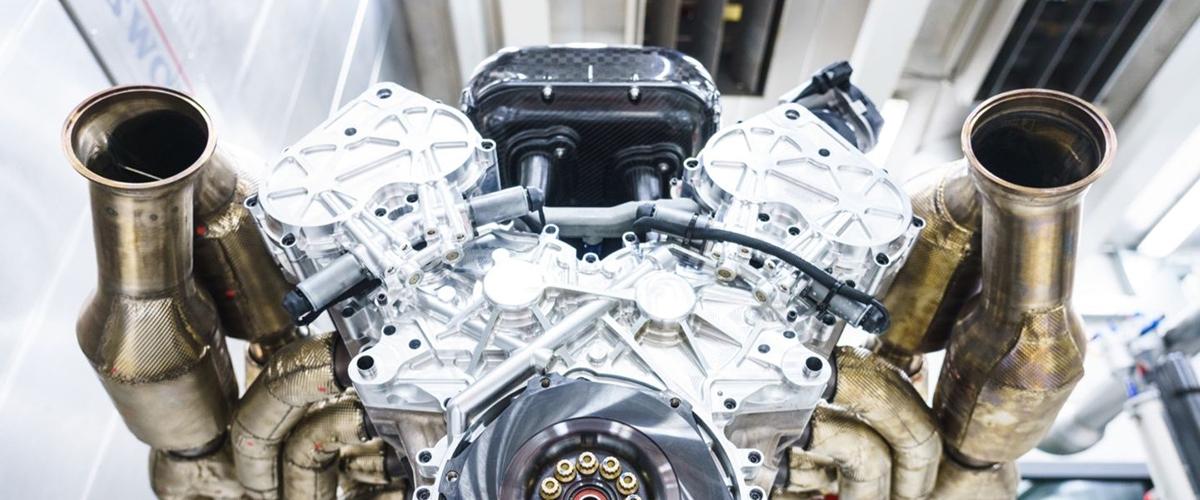 Aston Martin представи свръхмощен ДВГ с рекордни характеристики