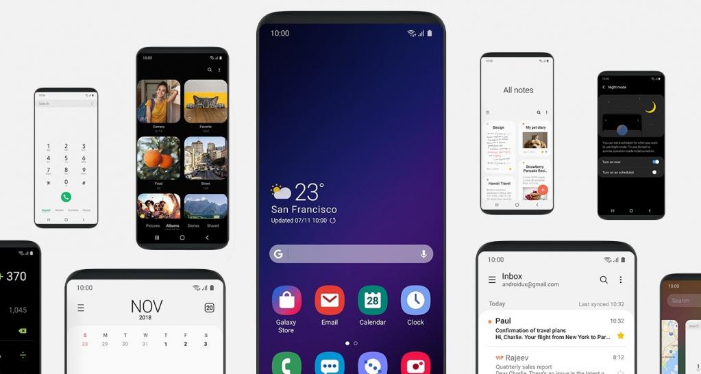 Samsung публикува интересен видеоклип, демонстриращ главните промени на фирмения потребителски