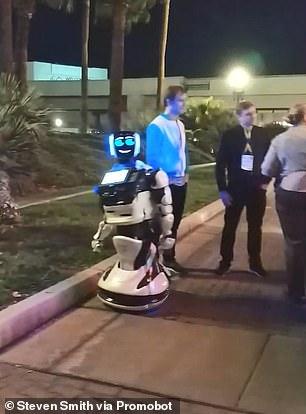 Tesla        Promobot  CES 2019