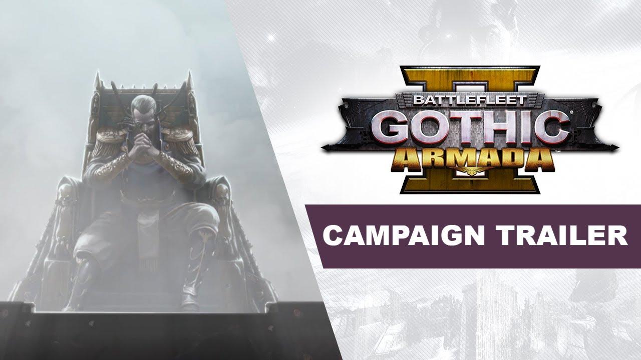 Снимка: Ново видео към Battlefleet Gothic: Armada 2 разглежда огромната кампания
