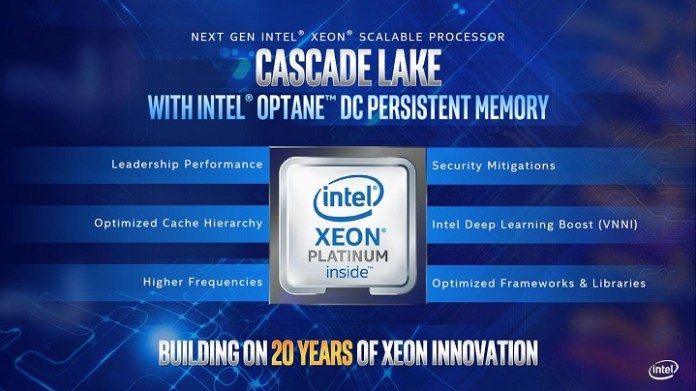 Intel: Cascade Lake    HEDT