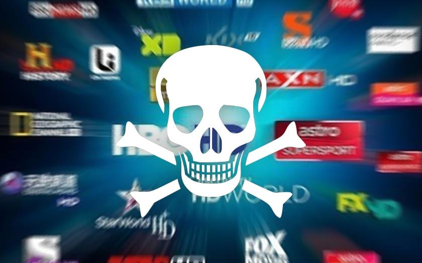 Софтуерът и приставките за гледане на пиратска онлайн IPTV са пълни с вируси