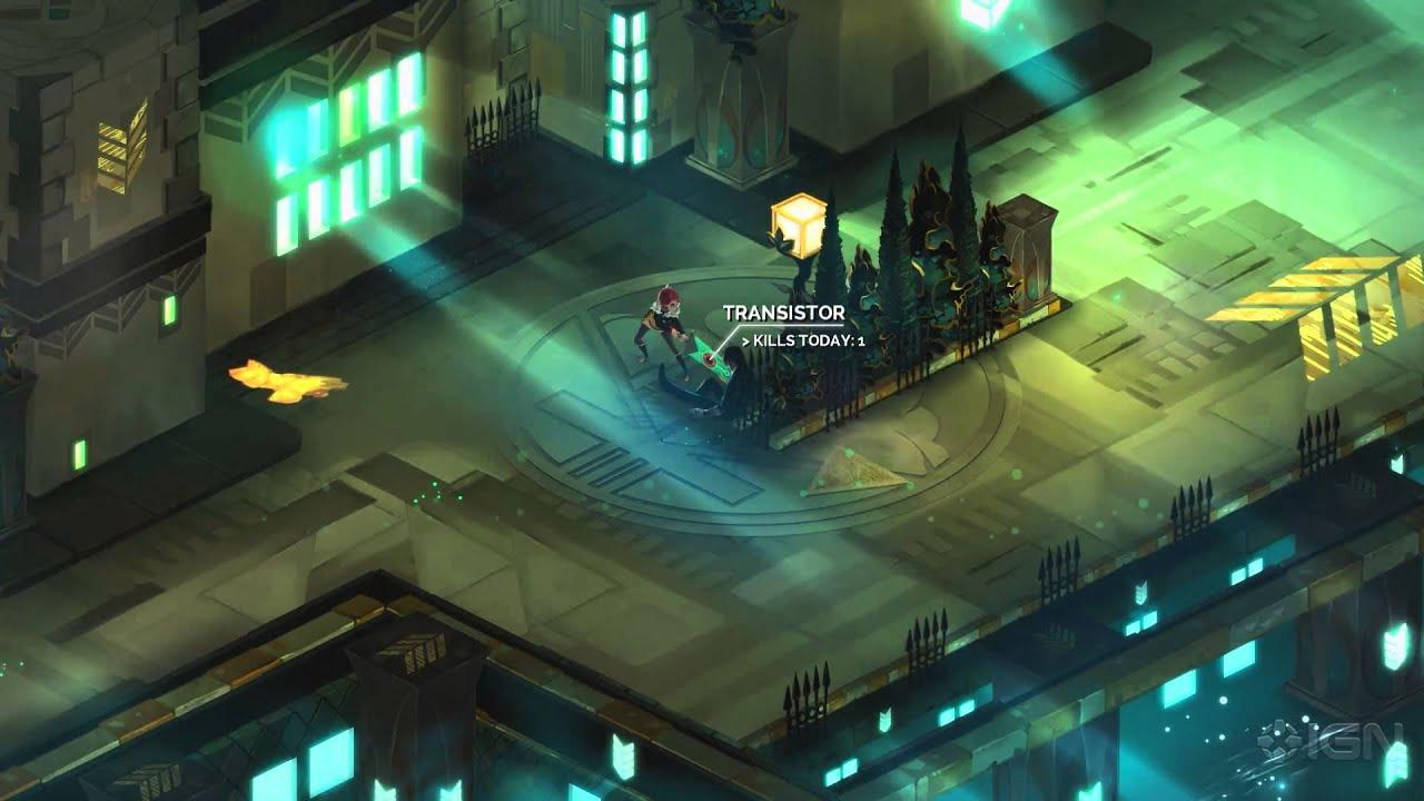 Снимка: Epic Games Store предлага този месец безплатно Transistor