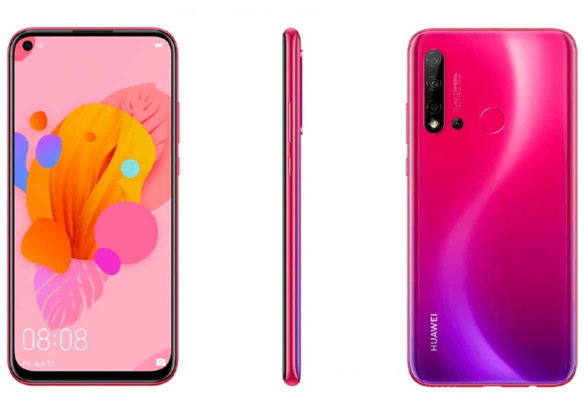 Смартфонът Huawei P20 lite 2019 ще има отвор за предната камера и четворна основна камера