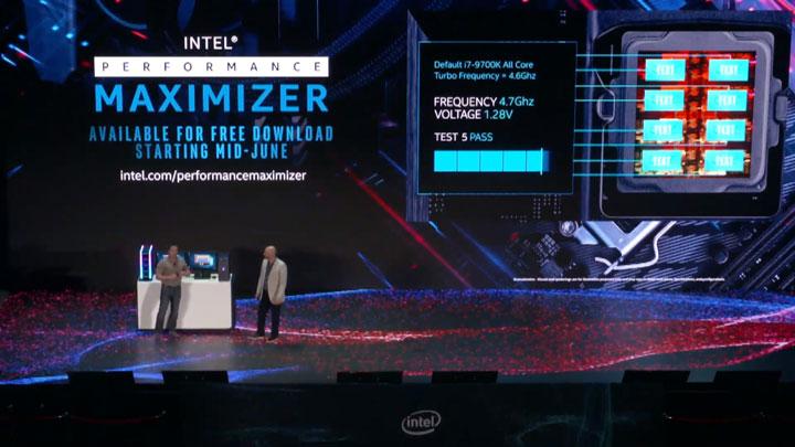 Освен централния процесор Core i9-9900KS (Special Edition), в рамките на