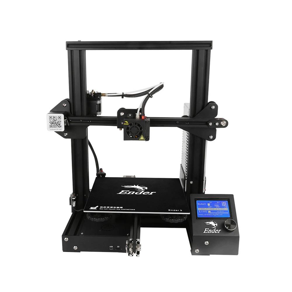 Триизмерният принтер CREALITY Еnder-3 е много подходящ за начинаещите, понеже