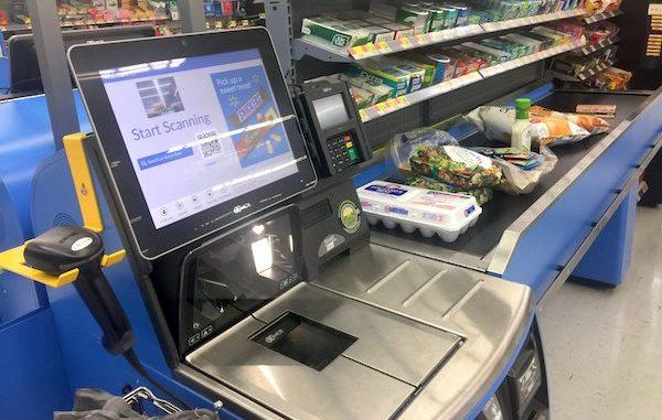 Walmart изостава от Amazon, що се отнася до магазините без