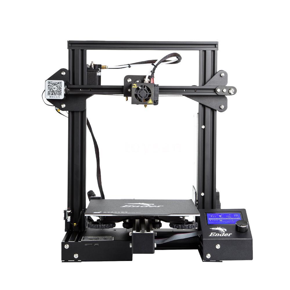 3D принтерът Creality Ender-3 Pro е характерен преди всичко с