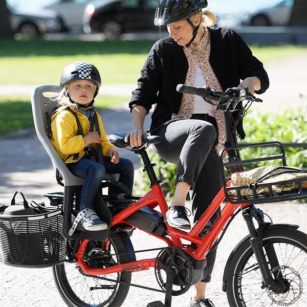 Снимка: Електрическият товарен велосипед HSD може да замени автомобила