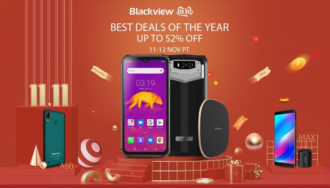 За празника 11.11 Blackview предлага до 52% намаление на цените