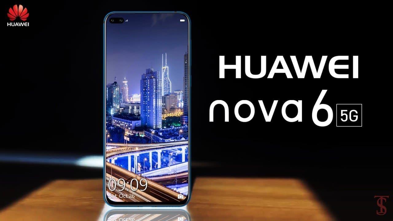 Huawei nova 6 5G скоро идва в Китай, според собствения